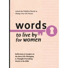 Words To Live By For Women – 60 Power Word Women's Devotions