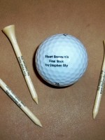 Stuart Brannon's Final Shot by Stephen Bly golf ball & golf tees