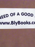 Author promotion: bumper sticker