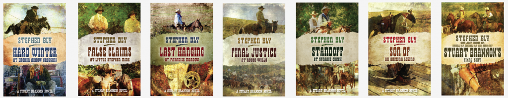 Christmas Western Novel and other books in The Stuart Brannon Series by Stephen Bly