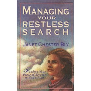 Managing Your Restless Search – for serving God