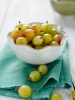 bowl of gooseberries