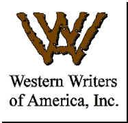Western Writers of America, Inc.