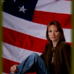 Sandy Frazier Riggers patriotic singer