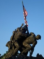 Bly Books author Janet Chester Bly born day of WWII flag raising at Iwo Jima