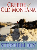 Square Butte scene from Creede of Old Montana by Stephen Bly