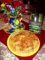 Rhubarb Apple Pie by Pearl Cahill of Wind in the Wires