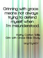 Grin With Grace Meme 1