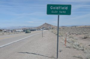 Research methods and Goldfield, Nevada