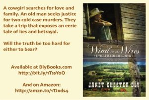Inspirational books novel Wind in the Wires by Janet Chester Bly