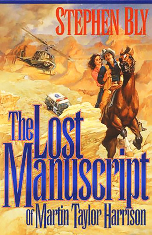 The Lost Manuscript of Martin Taylor Harrison – action adventure novel