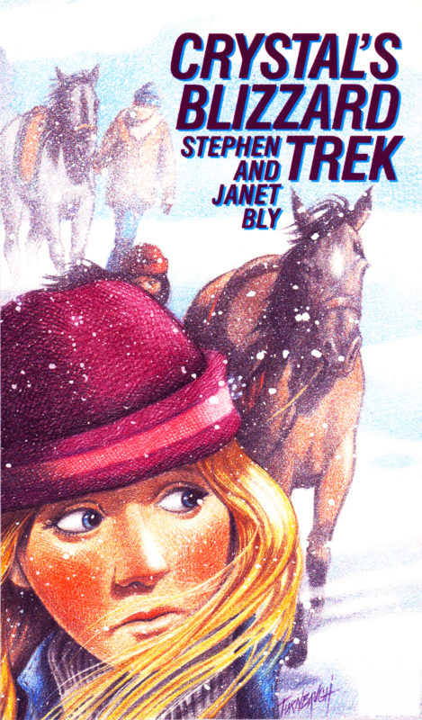 Crystal's Blizzard Trek – Rodeo Action Novel