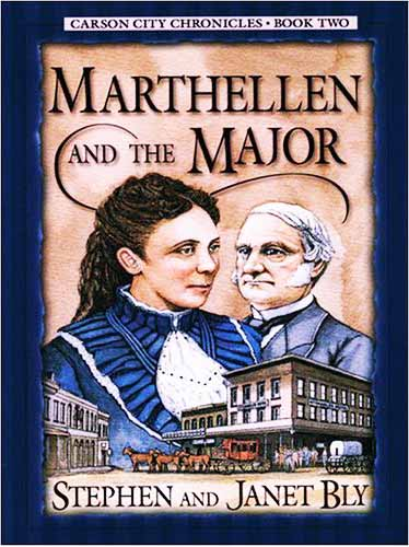 Marthellen and the Major – Carson City Chronicles historical cozy mystery