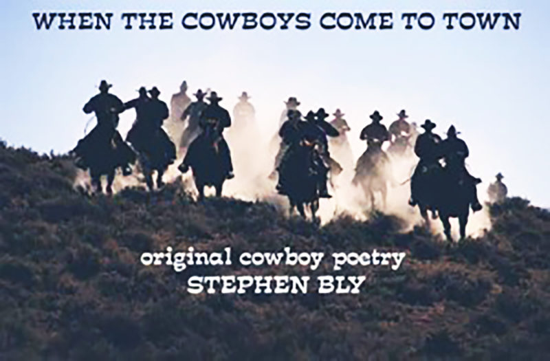 "Cowboy Poetry Book or CD ""When The Cowboys Come To Town"""